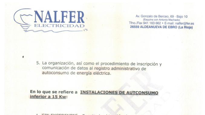 Aprobado el RD que regula el autoconsumo solar FV y la compensación de excedentes