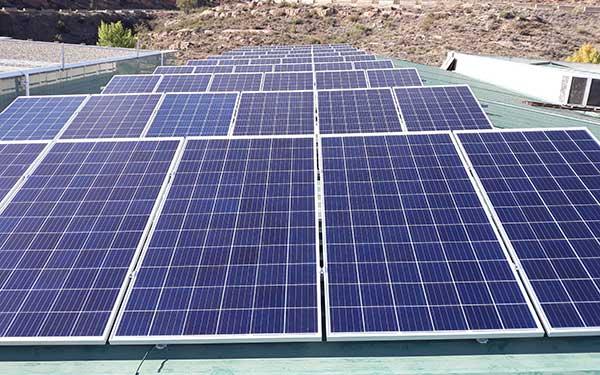 Instalación solar FV de 20,13 KWp en el polígono de Arnedo.