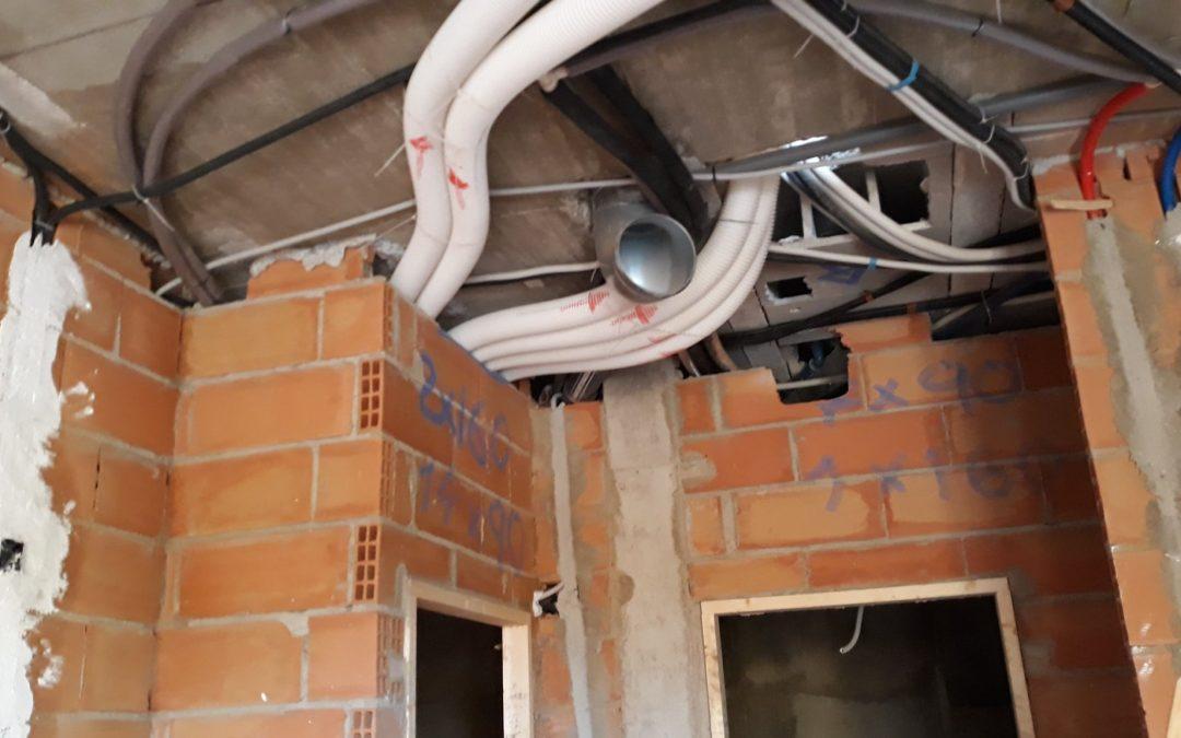 Nuevo servicio de recirculación de aire con recuperador en vivienda unifamiliar