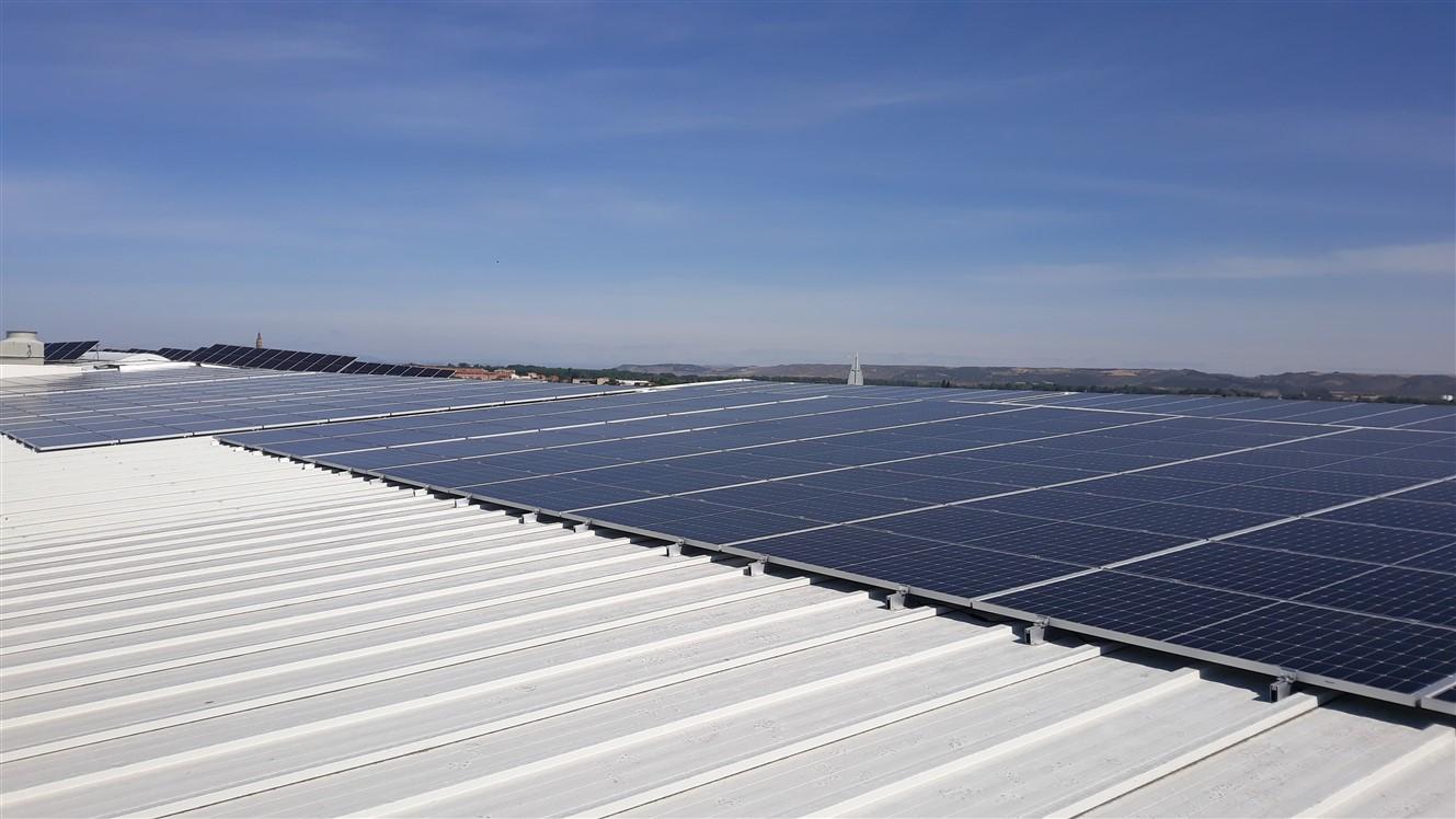 Ampliación de una instalación fotovoltaica 302,57Kwp en empresa hortofrutícola en la Rioja.